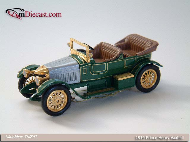 Matchbox: 1914 Prince Henry Vauxhall (YMS07) in 1:43 scale