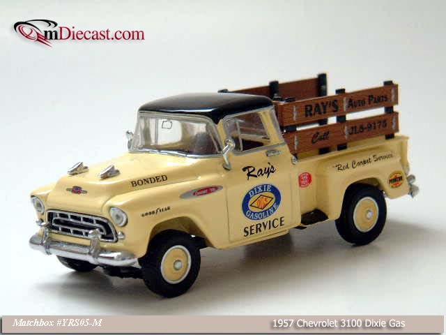 Matchbox: 1957 Chevrolet 3100 Dixie Gas (YRS05-M) im 1:43 maßstab