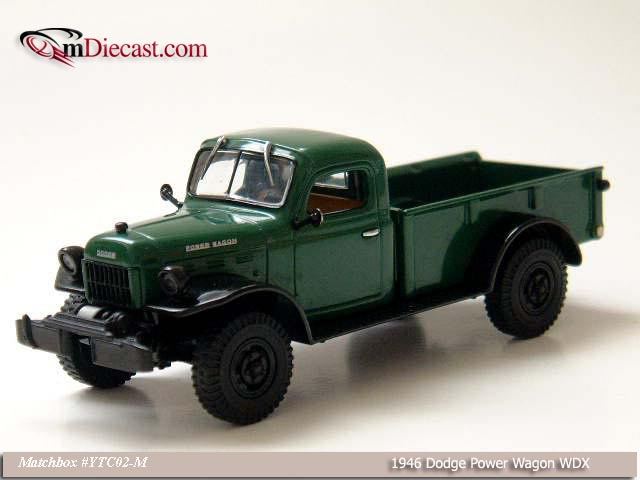 Matchbox: 1946 Dodge Power Wagon WDX (YTC02-M) im 1:43 maßstab
