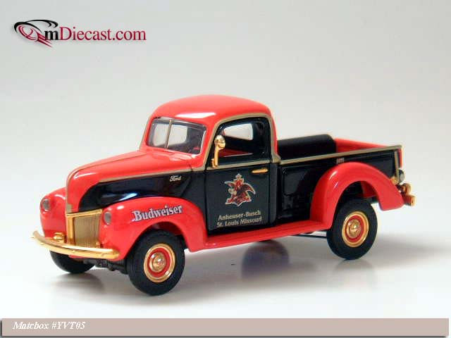 Matchbox: 1940 Ford Pick Up Truck (YVT05-M) in 1:43 scale