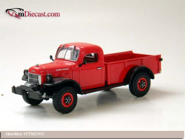Matchbox: 1948 Dodge Power Wagon (YYM35053) в 1:43 масштабе