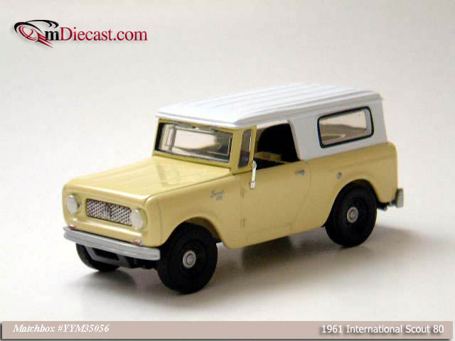 Matchbox: 1961 Internatinal Scout 80 (YYM35056) in 1:43 scale
