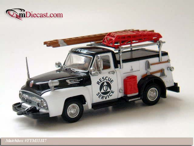 Matchbox: 1954 Ford F-100 Civil Defense Truck (YYM35187) в 1:43 масштабе