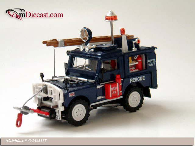 Matchbox: 1952 Land Rover - Royal Navy (YYM35188) in 1:43 scale