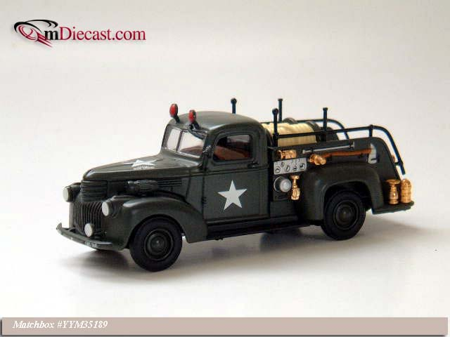 Matchbox: 1941 Chevrolet 3100 P/U Fire (YYM35189) in 1:43 scale