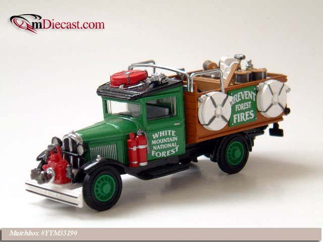 Matchbox: 1932 Ford Model AA 1 Ton (YYM35190) im 1:43 maßstab