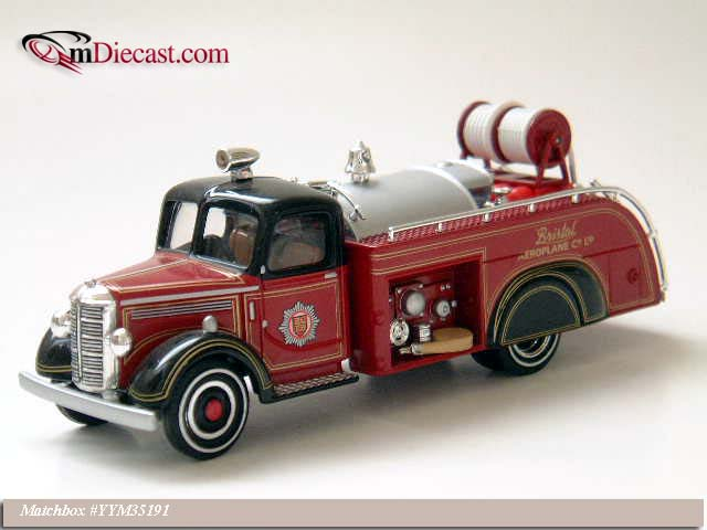 Matchbox: 1938 Bedford - Airport Rescue (YYM35191) в 1:43 масштабе