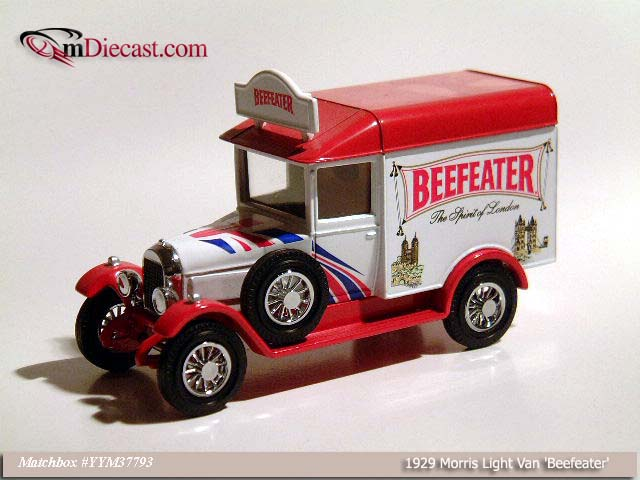 Matchbox: 1929 Morris Light Van `Beefeater` (YYM37793) in 1:43 scale