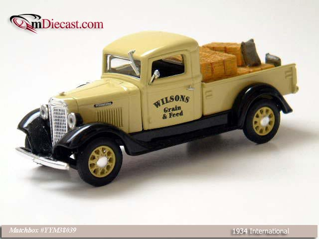 Matchbox: 1934 International C-Series (YYM38039) in 1:43 scale