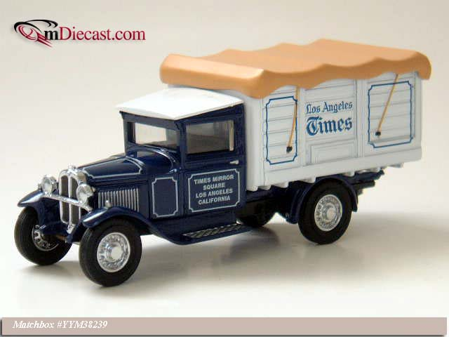 Matchbox: 1932 Ford Model AA 1 1/2 Ton Truck (YYM38239) in 1:43 scale