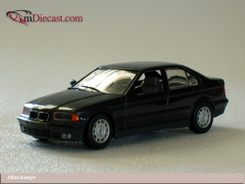 Minichamps: 1992 BMW 3-Series Sedan - Diamond Black (430 ...