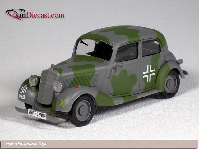 New millennium toys mercedes benz 170v german staff car for Mercedes benz greenway staff