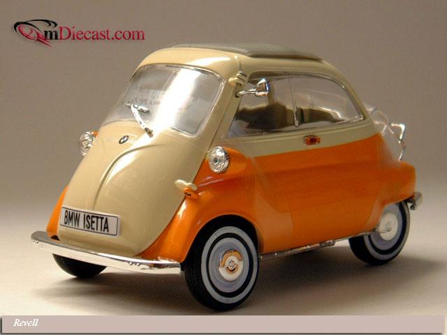 Revell 1957 Bmw Isetta 250 Orange Amp Cream 8912 Im 1 18 Ma 223 Stab Mdiecast