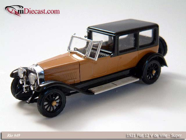 Rio: 1912 Fiat 12 V de Ville Super (049) in 1:43 scale