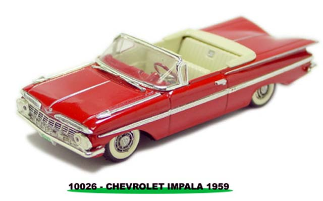 Sun Star: 1959 Chevrolet Impala - Red (10026) in 1:43 scale