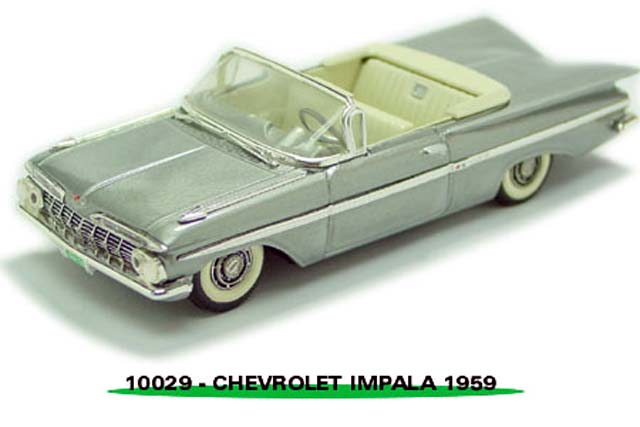 Sun Star: 1959 Chevrolet Impala - Grey (10029) в 1:43 масштабе