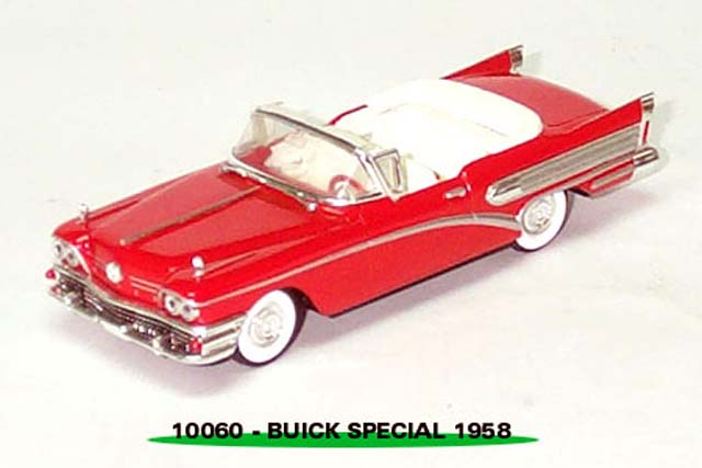 Sun Star: 1958 Buick Special - Red (10060) in 1:43 scale