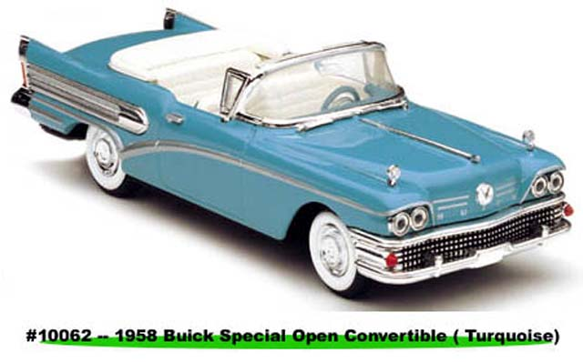 Sun Star: 1958 Buick Special - Turquoise (10062) in 1:43 scale