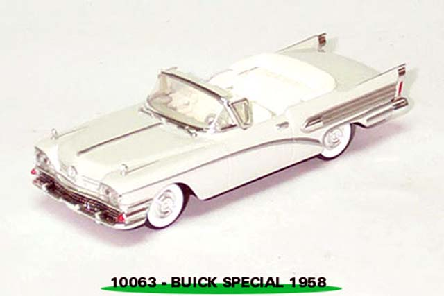 Sun Star: 1958 Buick Special - White (10063) in 1:43 scale