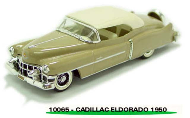 Sun Star: 1953 Cadillac Closed Convertible - Beige (10065) in 1:43 scale