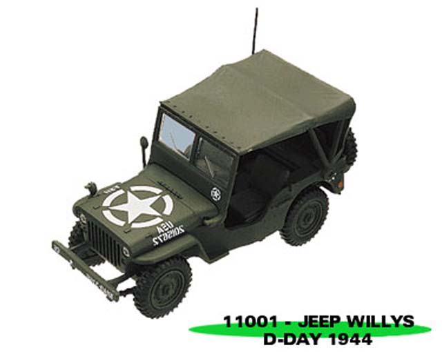 Sun Star: Jeep Willys Closed (11001) im 1:43 maßstab