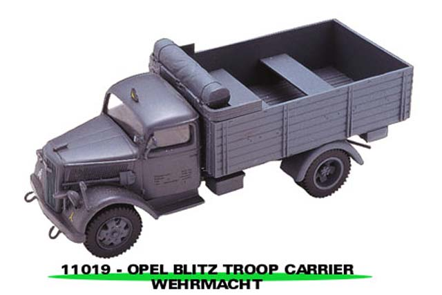 Sun Star: Opel Blitz Troop Carrier Wehrmacht (11019) in 1:43 scale