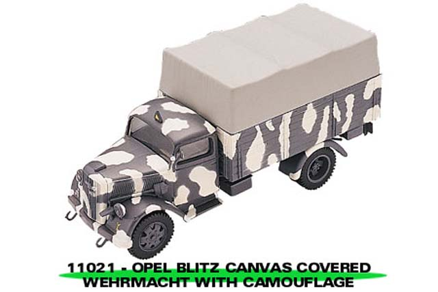 Sun Star: Opel Blitz Canvas Covered Wehrmacht w/ Camo. (11021) в 1:43 масштабе
