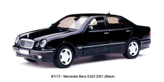 Sun Star 2001 Mercedes Benz E320 Black 1173 In 1 18