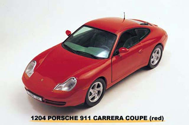 Sun Star: 1998 Porsche 911 - Guarada Red (1204) im 1:18 maßstab