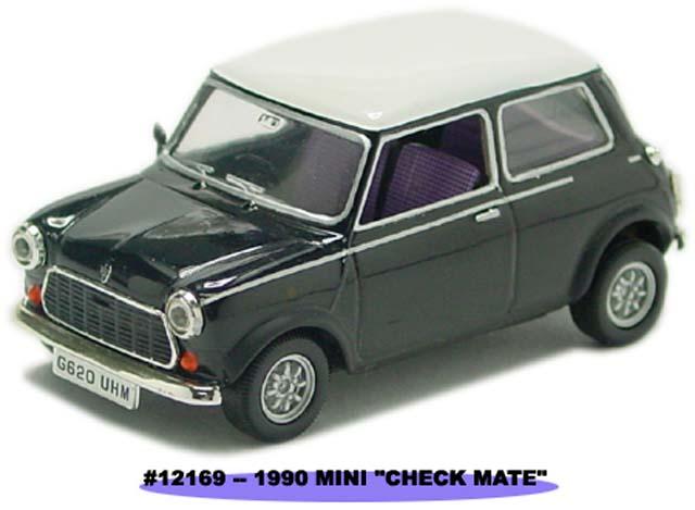 Sun Star: 1990 MINI - Check Mate (12169) в 1:43 масштабе