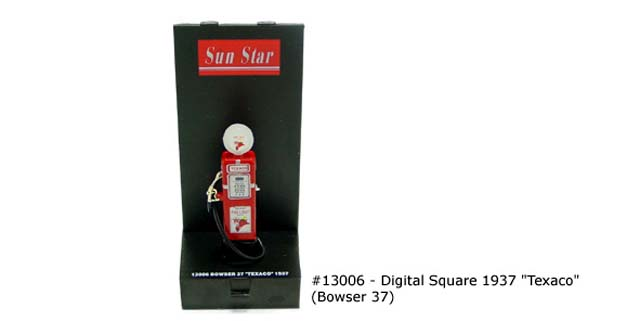 Sun Star: DIGITAL SQUARE 1937 'TEXACO' (13006) в 1:43 масштабе