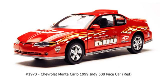 Sun Star: 1999 Chevrolet Monte Carlo Indy 500 Pace Car (1970) in 1:18 scale