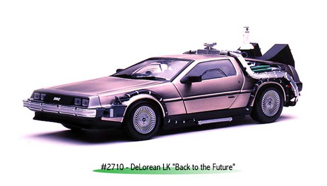 Sun Star: 1981 DeLorean DMC-12 'Back To The Future' - Part II (2710) im 1:18 maßstab