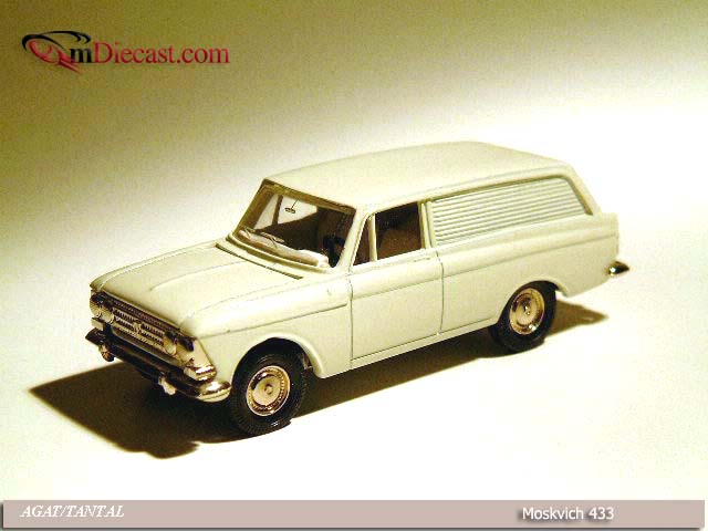 Agat/Tantal: Moskvich 433 White in 1:43 scale