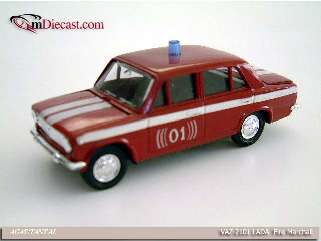 Agat/Tantal: VAZ 2101 LADA Fire Marshall in 1:43 scale