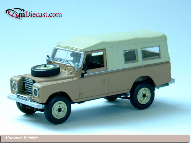 Universal Hobbies: Land Rover Series III Soft Top - Sand (1522) in