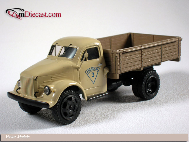 Vector Models: GAZ 51A (V4-21) in 1:43 scale