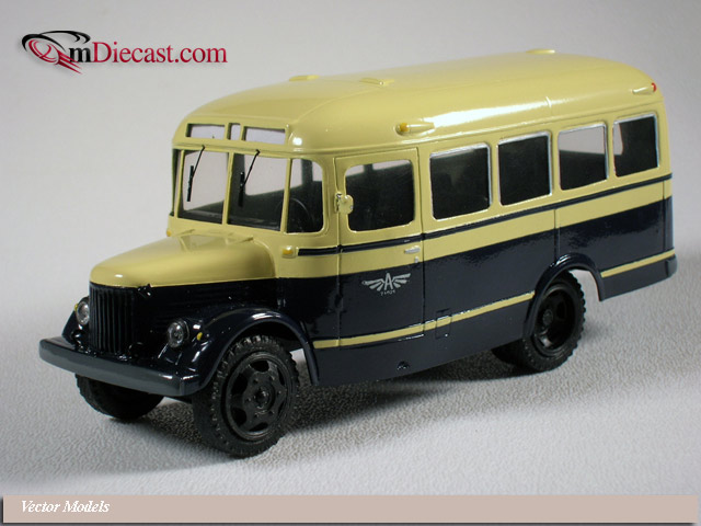 vector models 1949 gza 651 on gaz 51 chasis v412 in 1