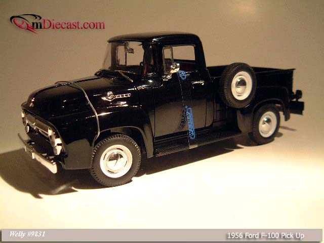 Welly: 1956 Ford F-100 Pick Up Black (9831) в 1:18 масштабе