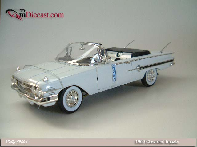 Welly: 1960 Chevrolet Impala - White (9864) in 1:18 scale