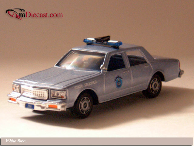 White Rose Collectibles: 1988 Chevrolet Caprice Maine State Police (DEDGM99107WIN) im 1:43 maßstab