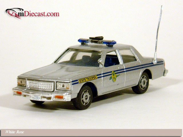 White Rose Collectibles: 1988 Chevrolet Caprice S. Carolina Highway Patrol (DEDGM99107WSC) in 1:43 scale