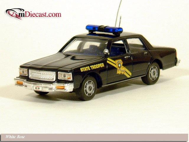 White Rose Collectibles: 1988 Chevrolet Caprice Louisiana State Police (DEDGM99107WIN) в 1:43 масштабе